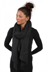 Pieces - Halstørklæde - PC Pyron Long Scarf - Black - Onesize