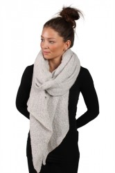 Pieces - Halstørklæde - PC Pyron Long Scarf - Moonbeam - Onesize
