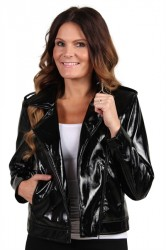 Pieces - Jakke - PC Ekim Biker Jacket - Black