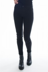 Pieces - Jeans - PC Just Wear 5 Pockets High Waisted Leggings Black