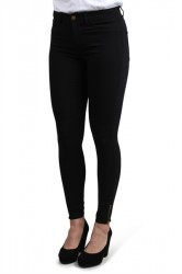 Pieces - Jeans - PC Skin Wear Zip Ankle - Black