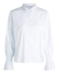 Pieces jianna ls shirt ff (HVID, S)