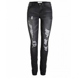 Pieces Just Villi R.M.W Legging (MØRKEGRÅ, xs -s)