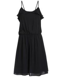 Pieces Karo dress (SORT, XL)