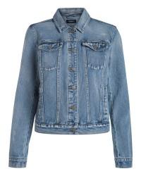 Pieces Kelly denim jacket (Denim, XXS)