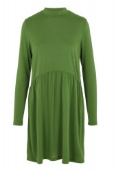 Pieces - Kjole - PC Berta LS Turtleneck Dress - Garden Green