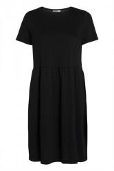 Pieces - Kjole - PC Berta SS Dress - Black