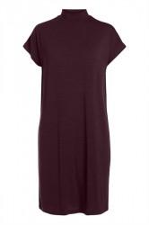 Pieces - Kjole - PC Billo T-Neck Dress - Port Royale Stripe/Black