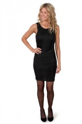 Pieces - Kjole - PC Danell SL Dress - Black