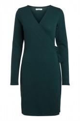 Pieces - Kjole - PC Darcy LS Wrap Dress - Ponderosa Pine