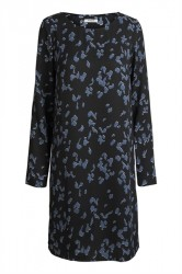 Pieces - Kjole - PC Ibea LS Dress - Black