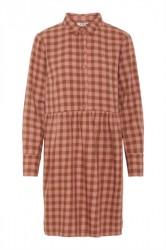 Pieces - Kjole - PC Inola LS Dress - Toasted Coconut/Ash Rose
