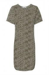 Pieces - Kjole - PC Jane New SS Dress - Beech