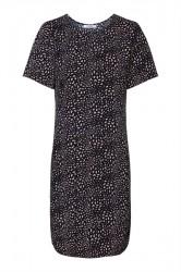 Pieces - Kjole - PC Jane New SS Dress - Navy Blazer
