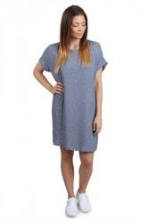 Pieces - Kjole - PC Karley Dress - Flint Stone