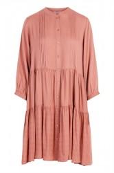 Pieces - Kjole - PC Lucca 3/4 Dress - Ash Rose