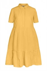 Pieces - Kjole - PC Mally SS Dress - Arrowwood