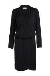 Pieces - Kjole - PC Maria LS Dress - Black
