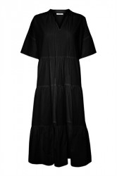 Pieces - Kjole - PC Marry SS Midi Dress - Black