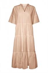 Pieces - Kjole - PC Marry SS Midi Dress - Sirocco