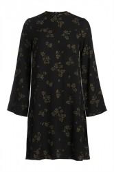 Pieces - Kjole - PC Nadea LS Dress - Black