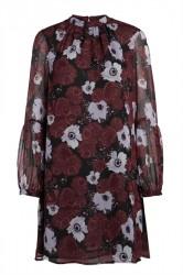 Pieces - Kjole - PC Olla LS Dress - Port Royale