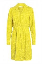 Pieces - Kjole - PC Onlaia LS Dress - Buttercup/Flowers