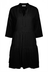 Pieces - Kjole - Sia 3/4 Dress - Black