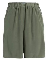 Pieces Mallia shorts (GRØN, S)