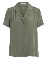 Pieces Mallia SS Shirt (GRØN, S)