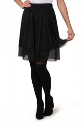 Pieces - Nederdel - Dahlia Skirt - Black