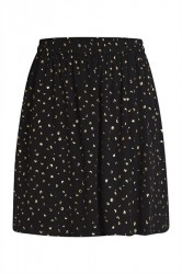 Pieces - Nederdel - PC Agna Skirt - Black