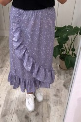 Pieces - Nederdel - PC Aida Skirt - Lavender