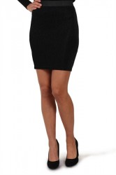 Pieces - Nederdel - PC Dea Skirt - Black
