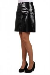 Pieces - Nederdel - PC Ekim Short Skirt - Black
