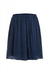 Pieces - Nederdel - PC Elja Skirt - Navy Blazer