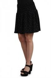 Pieces - Nederdel - PC Karley Skirt - Black/Flower