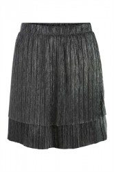 Pieces - Nederdel - PC Raglani Skirt - Silver
