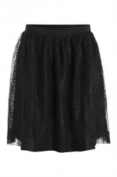 Pieces - Nederdel - PC Rexit Skirt - Black