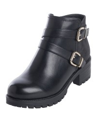 Pieces Pammi Boot (SORT, 36)