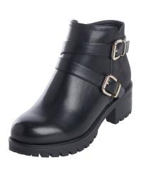 Pieces Pammi Boot (SORT, 41)