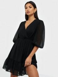 Pieces Pccallie 3/4 Dress D2D Skater kjoler