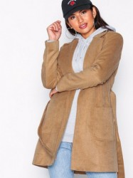 Pieces Pcdebby Belt Trenchcoat Bf Frakker Lys Brun