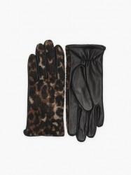 Pieces Pchailo Leo Leather Gloves Vanter & handsker