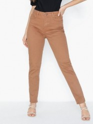 Pieces Pcleah Mom Hw Ank Colour Jeans-Ba Jeans