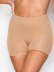 Pieces Pclondon Mini Shorts Noos Trusser Lys Brun