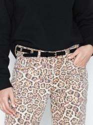 Pieces Pcsanja Suede Jeans Belt Bælter