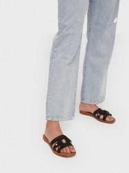 Pieces Psanilla Leather Sandal Sandaler