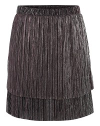 Pieces Raglani skirt 17085000 (MØRK ROSA, M)
