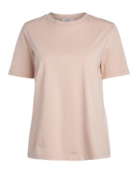Pieces Ria ss fold up tee (LYS ROSA, XL)